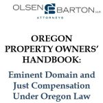 Eminent Domain Handbook for Oregon Property Owners